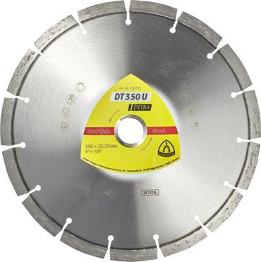 Klingspor DT 350 U Extra ø 230 mm BETON Laser Diamanttrennscheibe Trennscheibe