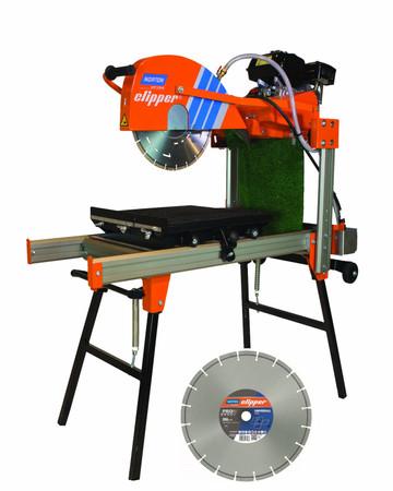 NORTON Clipper Tischsäge CM 401 Modulo 600 1.30.1 Trennsäge + ø 350mm Beton Uni – Bild 1