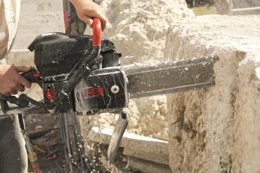 Diamant-Kettensäge ICS 695 XL F4-12 Benzin-Kettensäge mit 1x Sägekette FORCE4-25 – Bild 4