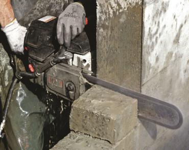 Diamant-Kettensäge ICS 695 XL F4-12 Benzin-Kettensäge mit 1x Sägekette FORCE4-25 – Bild 6