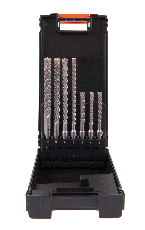 Industrie-Hammerbohrer-Sortiment 50-teilig 5-12 mm SDS-PLUS