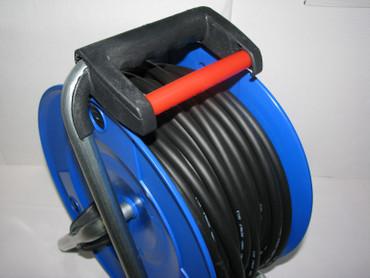 PROFI Kunststoff Kabeltrommel 40 m Kabel H07RN-F 3G1,5 mm schwarz IP44 Thermo – Bild 6