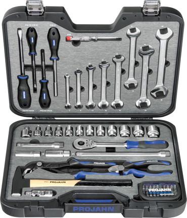 """Projahn PROFESSIONAL 67-tlg. Universal-Werkzeugkoffer 1/2"""" Werkzeug Koffer Satz – Bild 1"""