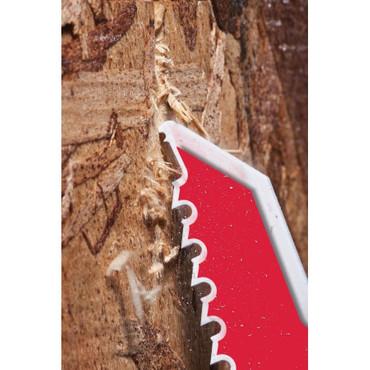 5x Milwaukee Säbelsägeblatt DEMONTAGE THE AX Holz Nägel 150 / 230 x 5 Säbelsäge – Bild 2