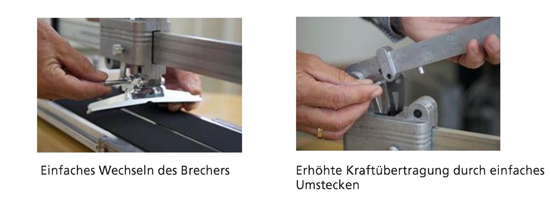 Kaufmann TOPLINE Fliesenschneider Schneidmaschine 920 mm Stahl Profi NEU