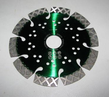 Diamantscheibe ø 125 mm Diascheibe Kalksandstein hart Beton Diamanttrennscheibe  – Bild 1