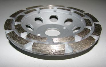 3 x Diamant Schleiftopf Schleifteller ø 125 mm - Beton Universal Topfschleifer – Bild 2