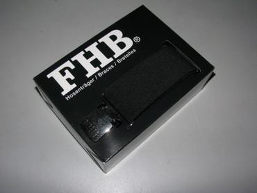 FHB Zunft Hosenträger Uni 120cm ACHIM 902/90  20 schwarz Zunft Hosenhalter 90290 – Bild 1