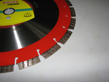 Klingspor DT 900 B Special ø 350 mm BETON Turbo Diamanttrennscheibe Trennscheibe – Bild 4