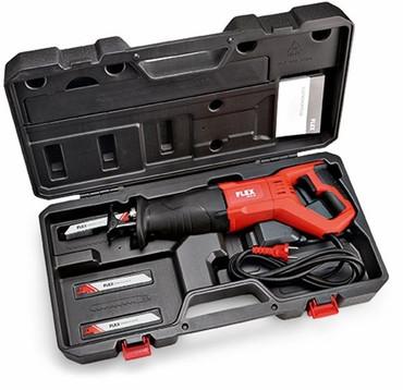 2x Flex Universal-Säbelsäge RS 11-28 mit Gasgebeschalter + Sägeblätter + Koffer – Bild 3