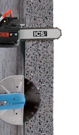 Diamant-Kettensäge ICS 680ES GC-14 Benzin mit 1x Sägekette Force3-32 Alt:EuroMAX – Bild 10