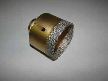 Diamantbohrer Fliesenbohrer Koffer VACUUM Fliese 11 T Feinsteinzeug 20 35 45 68 – Bild 4