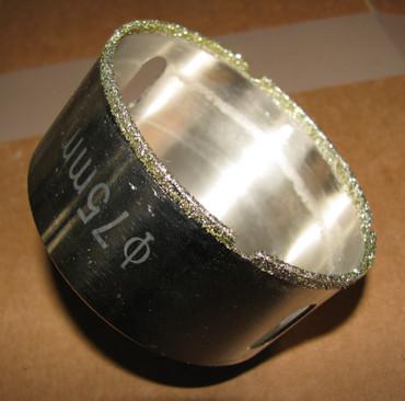 Diamant Fliesenbohrer Hohlbohrer dünnlippig Fliesen Glasfliesen Klinker Keramik – Bild 4