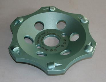 Diamant Schleiftopf Schleifteller ø 125 PKD-Kleber-Profi-Plus Epoxidharz Bitumen – Bild 2