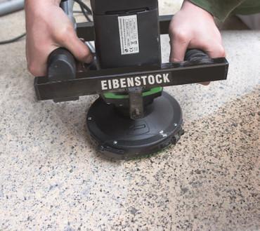 Eibenstock Betonschleifer EBS 1802 + Diamantschleifteller 125mm Beton Betonfräse – Bild 11