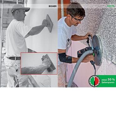 Eibenstock Dämmplattenschleifer EWS 400 +3 Schleifpapier P24 Dämmplatte Styropor – Bild 7
