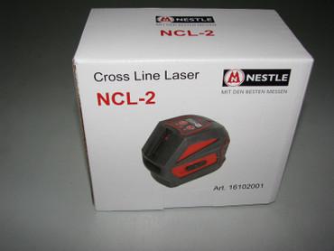 Nestle Linienlaser NCL-2 Innenausbau Laser Linie Kreuzlinienlaser Robust  – Bild 1