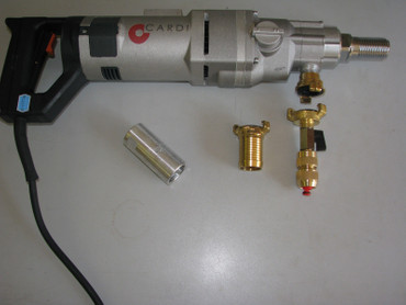 Diamant-Kernbohrgerät CARDI T 2200 ME-24 Kernbohrer Nass Trockenkernbohrgerät EL – Bild 5