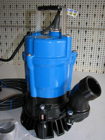 Schmutzwasserpumpe Tsurumi HSA2.4S mit Schwimmer Tauchpumpe Bau-Pumpe HSA 2.4 S – Bild 1