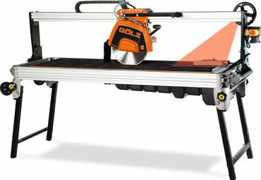 Tischsäge Gölz GS 350 A-XL Alu + Trennscheibe Granit Hartgestein GN30 + Beton Brückensäge – Bild 1