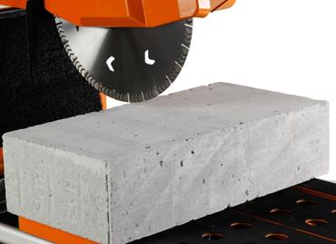 Blocksteinsäge Gölz BS 400 E Elektro Länge 650 mm + Trennscheibe Beton Tischsäge – Bild 3