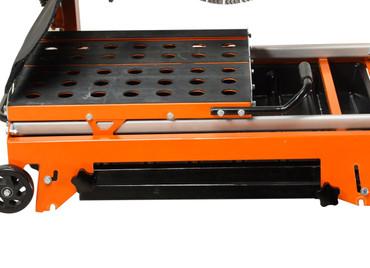 Blocksteinsäge Gölz BS 400 E Elektro Länge 650 mm + Trennscheibe Beton Tischsäge – Bild 5