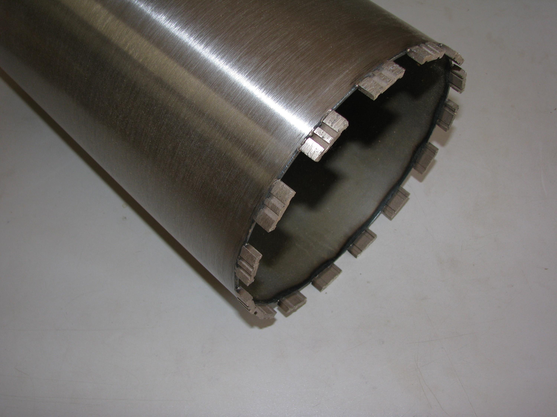 3-Loch Gölz 127 mm Durchm Diamant-Bohrkrone für Beton