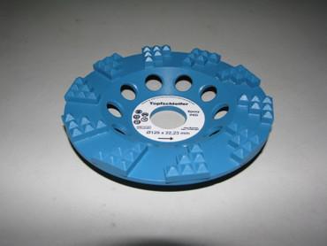 Diamant Schleiftopf Schleifteller ø 125 EPOXY Epoxid Klebereste Farbe Epoxidharz – Bild 3