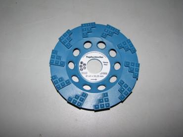Diamant Schleiftopf Schleifteller ø 125 EPOXY Epoxid Klebereste Farbe Epoxidharz – Bild 1