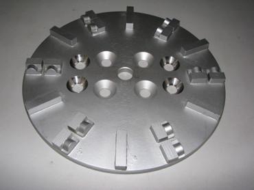 Schleifteller ø 250 mm PKD Estrich Epoxid passend für Bodenschleifer z.B. BS 250 – Bild 6