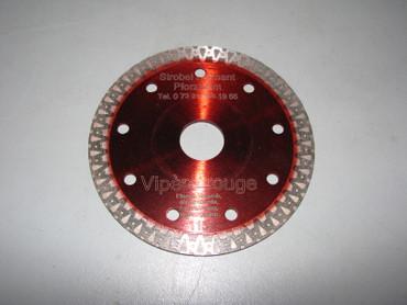 3x Diamanttrennscheibe ø 115 mm Fliese VIPERE ROUGE Feinsteinzeug Diamantscheibe – Bild 2