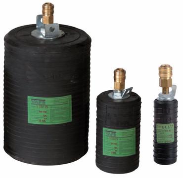 Rohrdichtkissen Typ UK 15 kurz 150 mm Kanal-Absperrblase L 220 Rohr-Dichtkissen – Bild 3