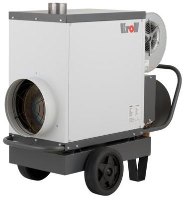 Kroll Warmlufterzeuger M 25 Öl-Heizer 1350 m³/h 25 kW Hallenheizung Heizgerät