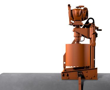 Diamant-Kernbohrgerät GÖLZ KB 350 mit STIHL 2-Takt-Motor Benzin 3-Loch 2,8 kw Rohrbohrgerät – Bild 2