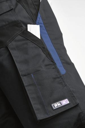 PKA Bundhose Arbeitshose FLEXOLUTION schwarz-dunkelblau-schwarz Hose FLBH-S – Bild 3