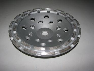 Diamant Schleiftopf Schleifteller ø 230 mm - BETON doppelreihig Betonschleifer Premium – Bild 4