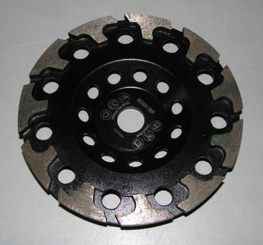 Diamant Schleiftopf ø 148 mm T-Segment passend zu DG 150 ABRASIV Estrichschleifer Schleifteller – Bild 1