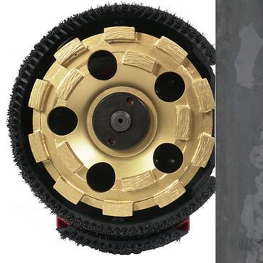 Betonschleifmaschine AGP G 5 mit 4x Diamant-Schleifteller Beton Bodenschleifer Betonschleifer G5 – Bild 5