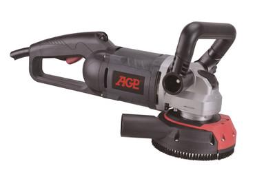 Hochfrequenz-Betonschleifmaschine AGP BG 125 bürstenlos IP55 ohne Umrichter mit 1x Diamant-Schleifteller Beton Bodenschleifer Betonschleifer BG125 – Bild 1