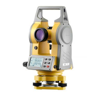 Nivel Systems elektronischer Theodolit DT-5 mit Laser-Lot Bautheodolit digital Laserlot – Bild 1