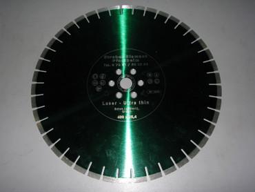 Diamantscheibe ø 400 BETON Ultra-Thin Diamant-Trennscheibe für AGP C16 Handsäge C 16 – Bild 1