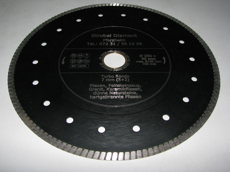 Fliesen Ø 125 x 22,2 mm Diamanttrennscheibe Trennscheibe Tiles Keramik