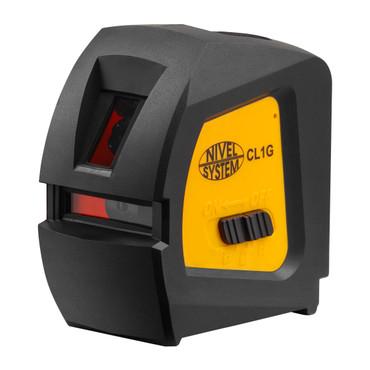 CL1G Nivel System Kreuzlinien-Laser grün Linienlaser Kreuzlinienlaser grüner Laser horizontal / vertikal – Bild 1