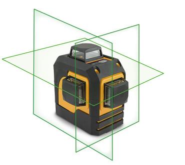 CL3D Nivel System Kreuzlinienlaser 3 Ebenen 360° 1x horizontal/ 2x vertikal rot oder grün n.Wahl Laser CL3D-G Multilaser – Bild 7