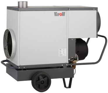 Kroll Warmlufterzeuger M 50 Öl-Heizer 2600 m³/h 46 kW Hallenheizung Heizgerät