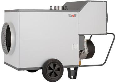 Kroll Warmlufterzeuger M 100 Öl-Heizer 5400 m³/h 90 kW Hallenheizung Heizgerät