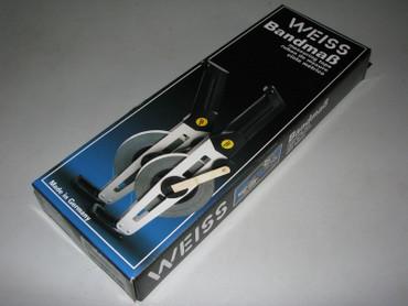 WEISS Type 600 Stahlbandmaß 30 weisslackiert Bandmaß Stahl Rollbandmaß SuperLac – Bild 2