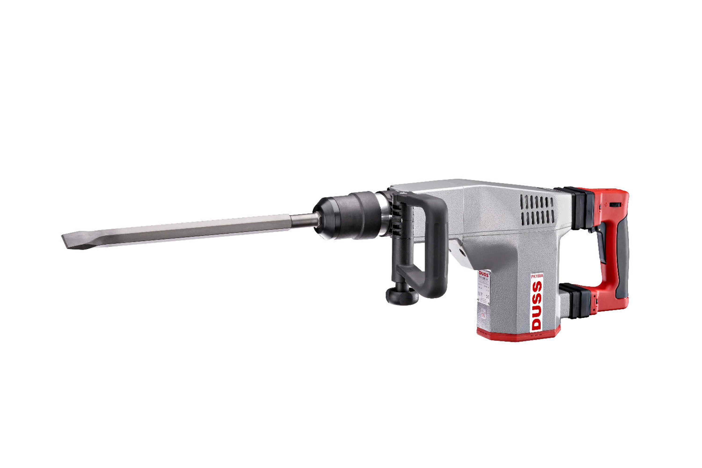 DUSS Meißelhammer PK 75 A Set Abbruchhammer 6,6 kg 16mm 6-Kant 1050 Watt 280kg//h