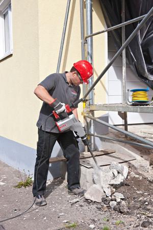 DUSS Abbruchhammer PK 160 A Set Meißelhammer 6,6 kg - 6-Kant 1300 Watt 475 kg/h – Bild 3