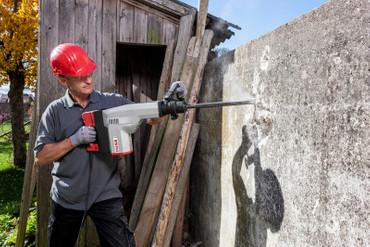 DUSS Abbruchhammer PK 300 A Set Meißelhammer 13,6 kg - 6-Kant 1700 Watt 730 kg/h – Bild 4